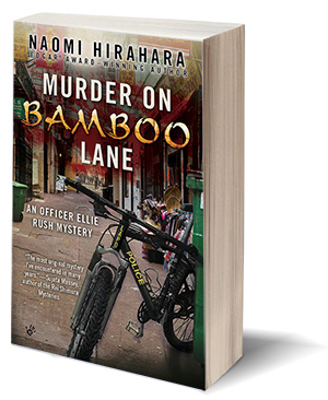 cover of MURDER ON BAMBOO LANE by Naomi Hirahara