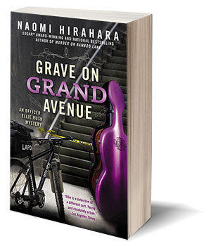 cover of A GRAVE ON GRAND AVENUE by Naomi Hirahara
