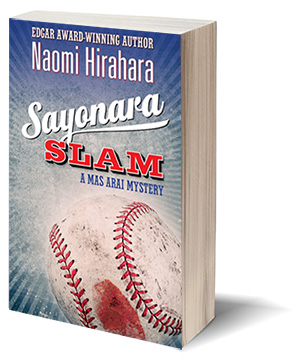 cover of SAYONARA SLAM by Naomi Hirahara